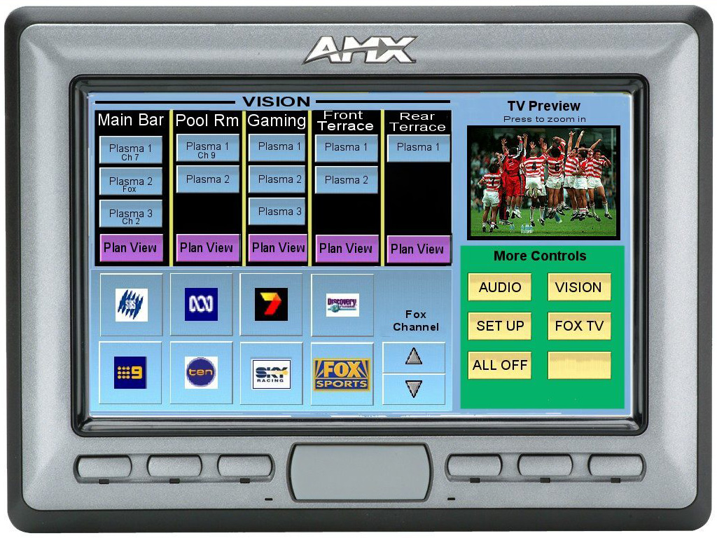 AV Control AMX